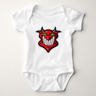 Body Para Bebê Diabo dos desenhos animados