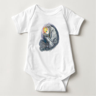 Body Para Bebê Diabo-marinho que Swooping acima a atração
