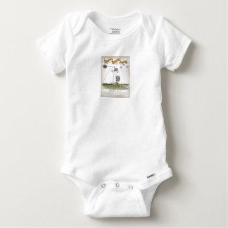 Body Para Bebê dianteiro de centro do futebol de Inglaterra