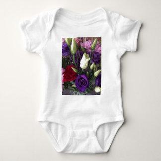 Body Para Bebê Diga o amor você com flores