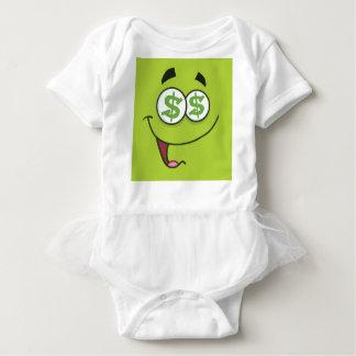 Body Para Bebê Dinheiro feliz Emoji