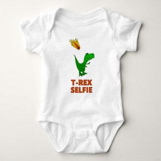 Body Para Bebê Dinossauro de T-Rex Selfie