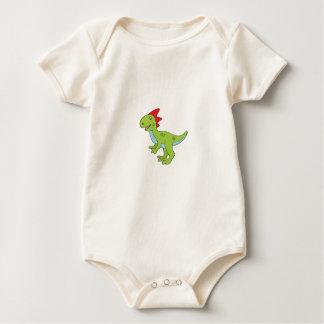 Body Para Bebê dinossauro do rex do lagarto