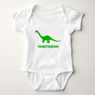 Body Para Bebê Dinossauro do vegetariano do Brontosaurus