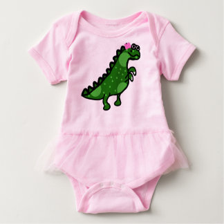 Body Para Bebê Dinossauro No.2