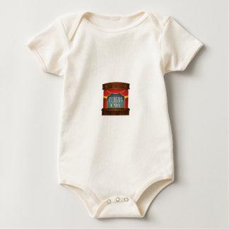 Body Para Bebê direito de palco da chamada ao palco