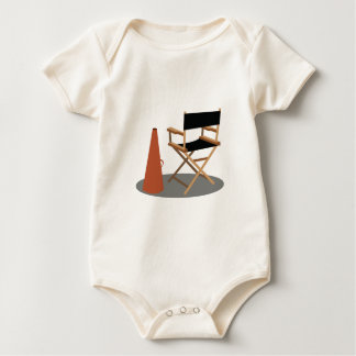 Body Para Bebê Diretor Cadeira