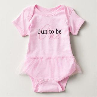 Body Para Bebê Divertimento a ser um