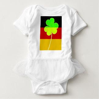 Body Para Bebê Divertimento alemão irlandês de St Patrick do