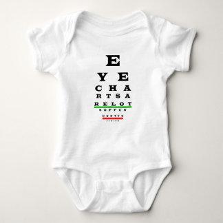 Body Para Bebê Divertimento de Eyechart