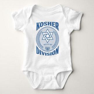 Body Para Bebê Divisão Kosher