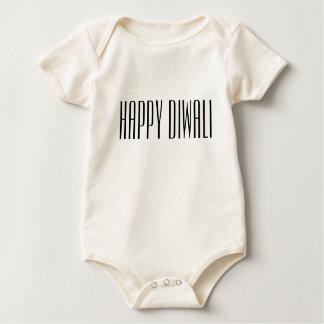 Body Para Bebê Diwali feliz na pia batismal elegante