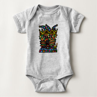 "Body Para Bebê Do ""Bodysuit do jérsei do bebê do Kat bobo da"