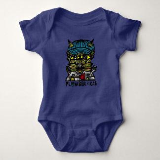 """Body Para Bebê Do """"Bodysuit do jérsei do bebê do Kat canalizador"""""""