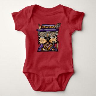 """Body Para Bebê Do """"Bodysuit do jérsei do bebê do Kat proxeneta"""""""