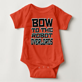 "Body Para Bebê Do ""Bodysuit do jérsei do bebê dos Overlords robô"""