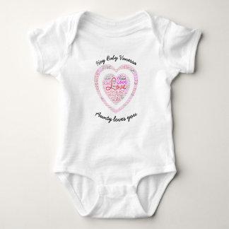 """Body Para Bebê Do """"Bodysuit feito sob encomenda do jérsei Aunty"""