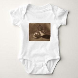 Body Para Bebê Do bule vida ainda