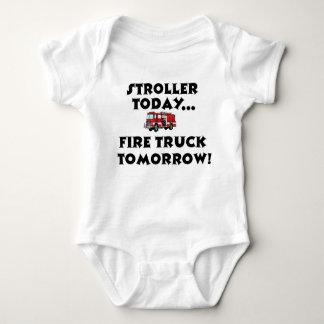 Body Para Bebê Do carrinho de criança Firetruck hoje… amanhã!
