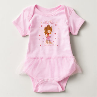 Body Para Bebê ~ do design de caráter que aumenta Maddie - botas