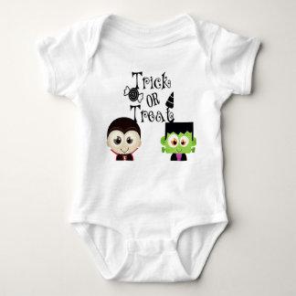 Body Para Bebê Doçura ou travessura: Parte superior do bebê