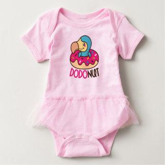Body Para Bebê Dodonut (pássaro da filhós e do dodo)