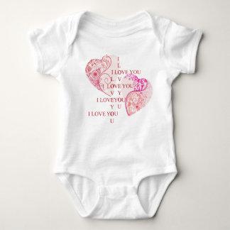 Body Para Bebê Dois corações