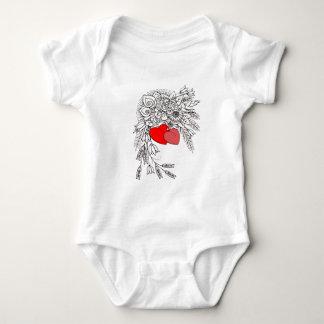 Body Para Bebê Dois corações 2