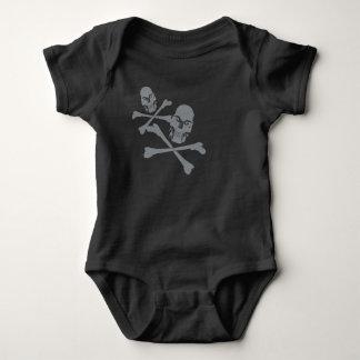 Body Para Bebê Dois crânios