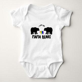 Body Para Bebê Dois Mama Carregamento
