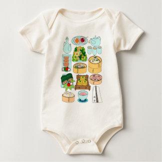 Body Para Bebê Domingo Dim Sum