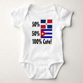 Body Para Bebê Dominican 100% do cubano 50% de 50% bonito