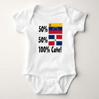 Body Para Bebê Dominican 100% do venezuelano 50% de 50% bonito
