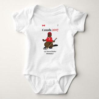 Body Para Bebê Domínio do hóquei do castor de Canadá 150 em 2017