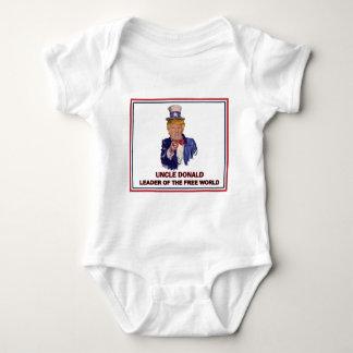 Body Para Bebê Donald Trump/líder do tio Sam do mundo livre!