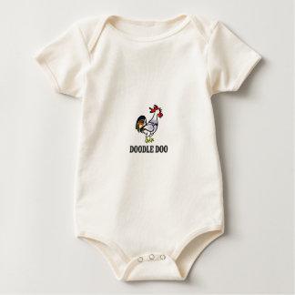 Body Para Bebê doo do doodle do galo