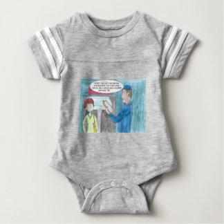 Body Para Bebê Dor na carteira