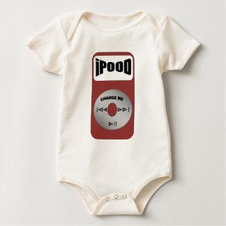 Body Para Bebê dorminhoco do bebê da música do ipood