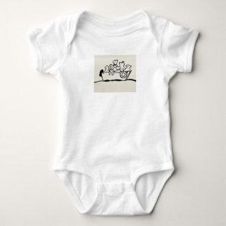 """Body Para Bebê Dos """"Bodysuit do jérsei do bebê cães e dos barcos"""""""