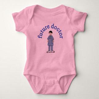 Body Para Bebê Doutor futuro bonito