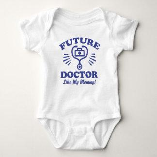 Body Para Bebê Doutor futuro Como Meu Mamãe