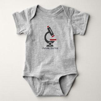 Body Para Bebê Doutor futuro Microscópio Projeto Bebê Roupa