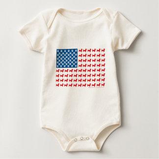 Body Para Bebê Doxie-EUA-BANDEIRA-PARa-Obscuridades