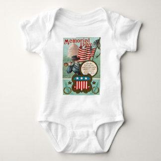 Body Para Bebê Dr. do congresso do soldado da união da guerra