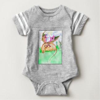 Body Para Bebê Dragão do texugo