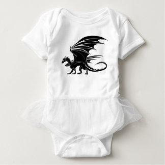 Body Para Bebê Dragão irritado