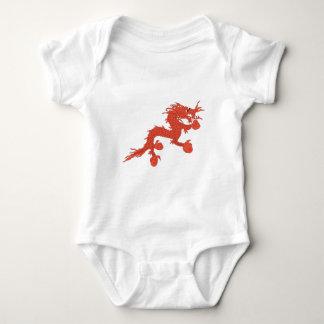 Body Para Bebê Dragão vermelho (Bhutan)