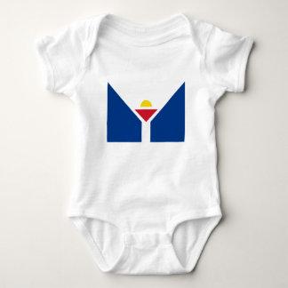 Body Para Bebê Drapeau de St Martin - bandeira de St Martin