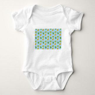 Body Para Bebê durians azuis