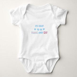 Body Para Bebê É aprovado ser o transporte e o gay (v3)